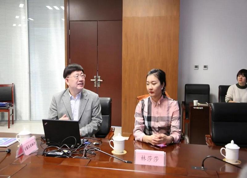 王总赴延安市介绍金融平台运营模式